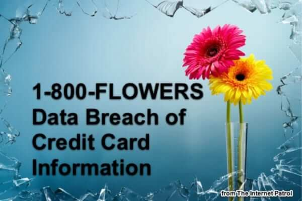 1-800-FLOWERS Data Breach Second Breach Revealed for December 2018