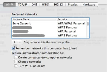 Make Your Macbook Connect Automatically to Your Home Wifi Again