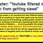 "YouTube Shooter: ""Youtube filtered my channels to keep them from getting views!"""