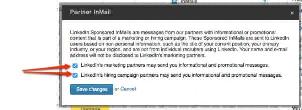 How to Opt Out of LinkedIn Sponsored InMail