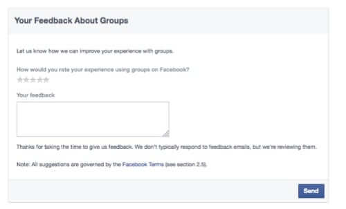 tell facebook no more groups without permission