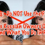 Warning Do NOT Use Facebook Face App! FaceApp_s Russian Owners Own Your Data and What You Do in FaceApp