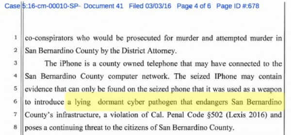 San Bernardino DA Suggests