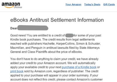 amazon antitrust lawsuit settlement
