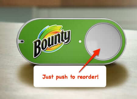 Amazon's New Dash Button - Push to Buy Button is not an April Fool's Joke