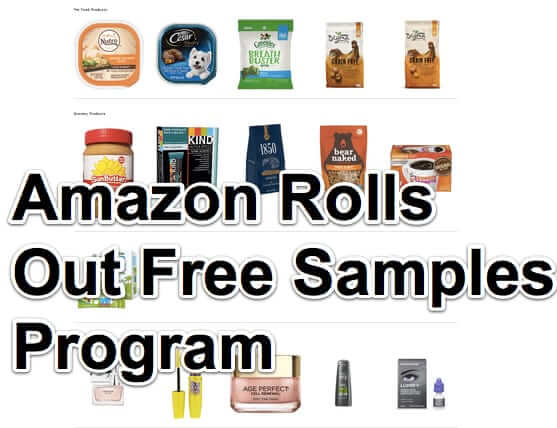Amazon Rolls Out Free Samples Program – How to Get Free Samples from Amazon and How to Stop Them