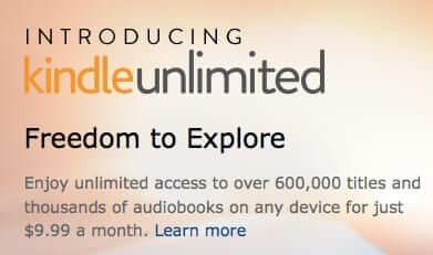 Amazon Introduces Kindle Unlimited All-You-Can Read Service