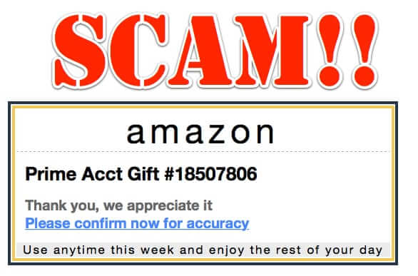 Newest Amazon Order Scam Spam