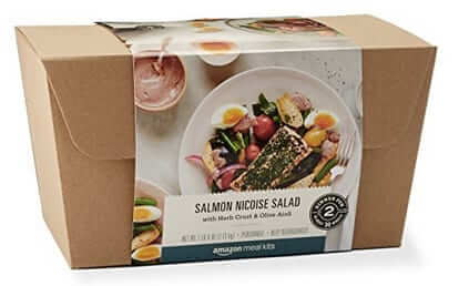 amazon salmon nicoise salad meal kit