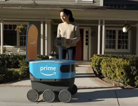 amazon scout delivery robot size