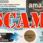 About the Amazon Gift Card in Your Mailbox Scam