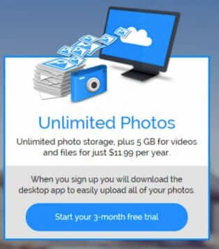 Amazon Unlimited Photo Storage Service only $11.99 per Year – Free with Prime