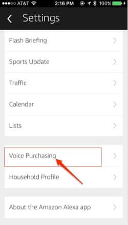 amazon echo alexa app voice purchasing