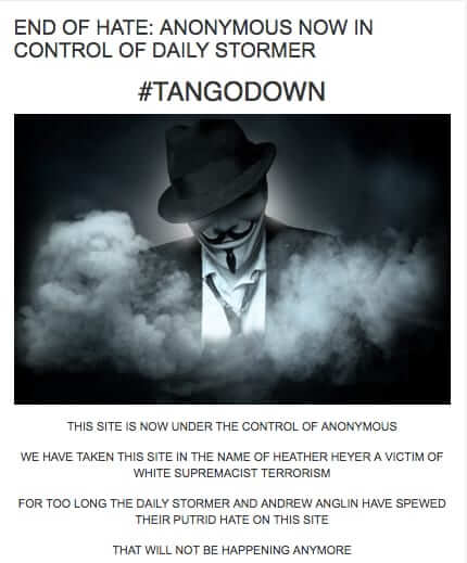 anonymous daily stormer