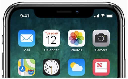 apple iphone x 10 notch
