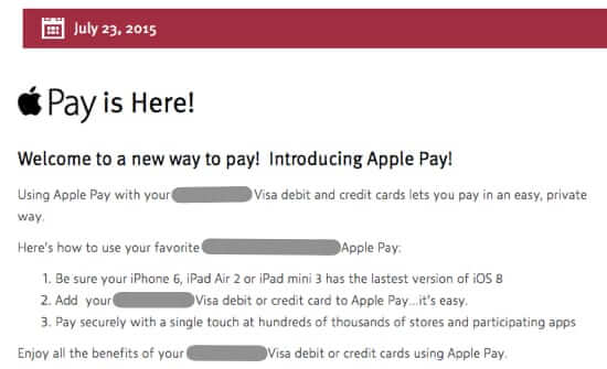apple pay arrives