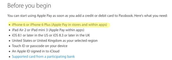 apple pay without iphone 6