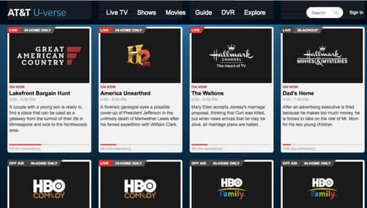 at u0026t rolls out live and streaming tv on mobile devices