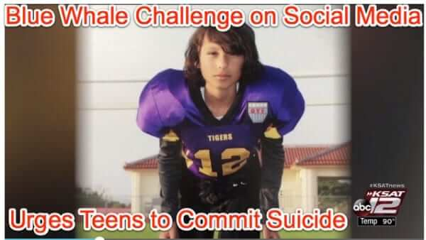 The Blue Whale Suicide Challenge Game for Teens - It's Real Enough