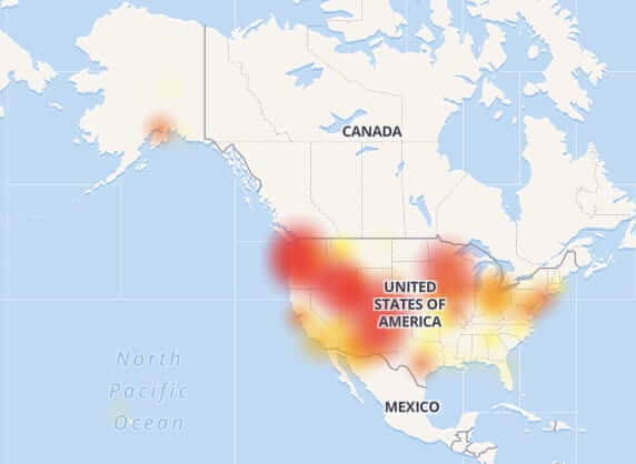 centurylink outage nationwide