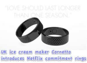 Netflix Purity Commitment Ring Keeps Partners from Binge Watching without the Other