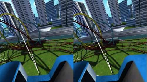dive city roller coaster virtual reality iphone app vr