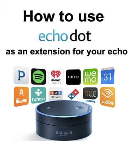 Amazon Echo Dot Setup and How to Use the Echo Dot as an Extension of Your Echo