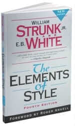 elements of style - strunk and white