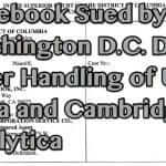 Facebook Sued by Attorney General over Cambridge Analytica Debacle