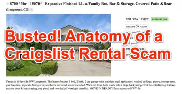 Anatomy of a Craigslist Rental Scam – How to Detect Rental Scams on Craigslist