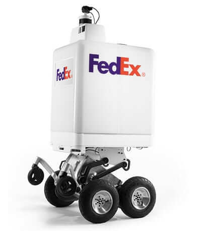 fedex sameday same day delivery robot bot