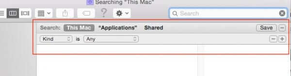 finder advanced search