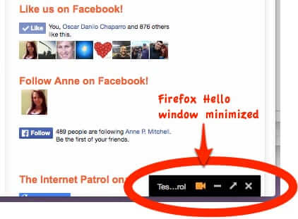 Firefox Hello' Video Chat Service Takes on Facetime, Skype, and Viber