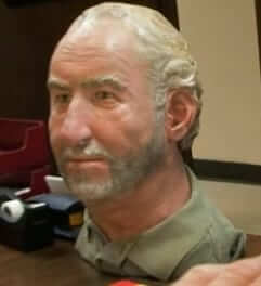 frank bender forensic bust of gregory may