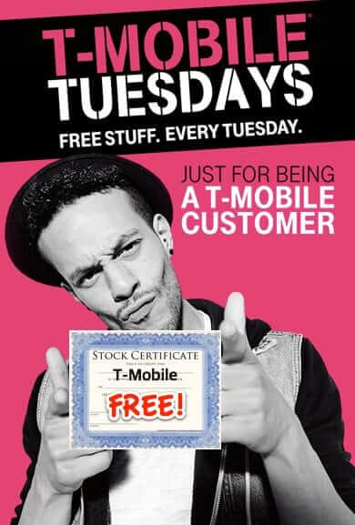 T-Mobile Giving Away T-Mobile Stock to Customers