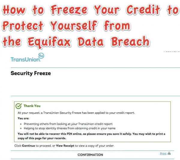 What YOU Need to do RIGHT NOW Because of the Equifax Data Breach in Order to Protect Yourself