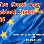 How GDPR Affects Individuals in the U.S. and Around the World Including What Rights Individuals Have Under GDPR