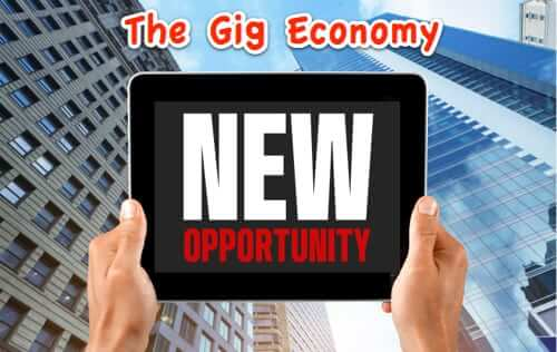 Smartphones + Mobile Apps + Adaptive Workforce = Gig Economy