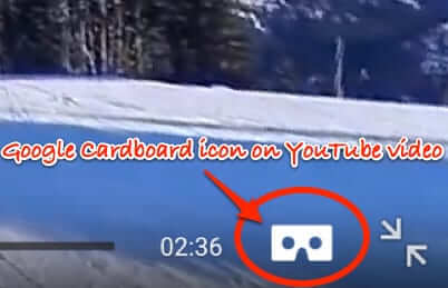 google cardboard icon youtube
