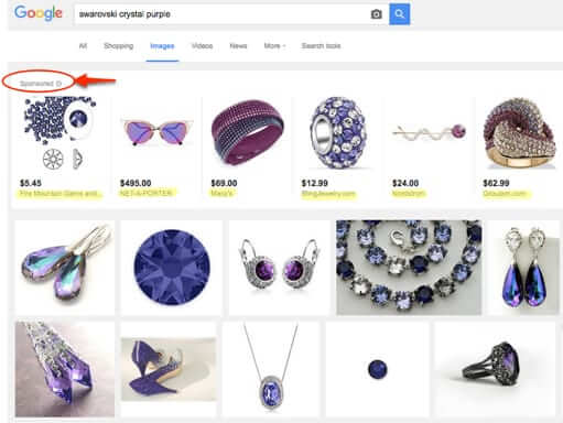 Google Slips Ads in to Google Image Search Results
