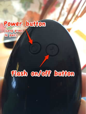 gpel pebble wireless bluetooth selfie remote