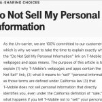 Here's What's Up with All Those 'Do Not Sell My Personal Information' Links and Pages that are Cropping Up