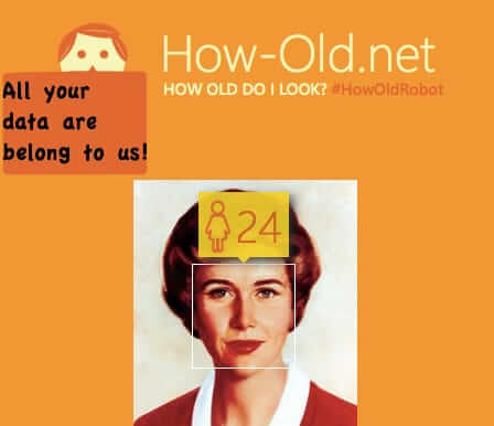 How-Old.net Actually Created to Scrape Your Photos Metadata