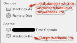 how to back up mac to another mac