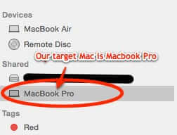 how to back up source mac to target mac