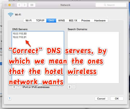 how to connect to hotel wireless wifi network