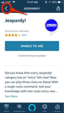 how to get rid of alexa echo skill app
