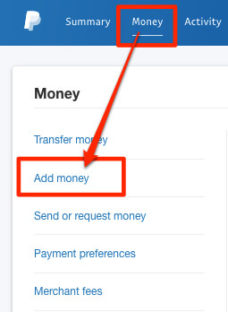 how to payment paypal business loan