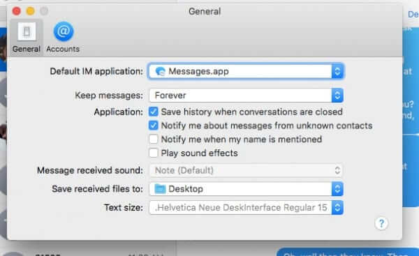 how to save archive text messages mac