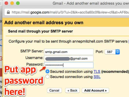 how to set up new from address gmail